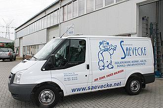 Bild zum Vergrößern anklicken - Saevecke GmbH Transporter